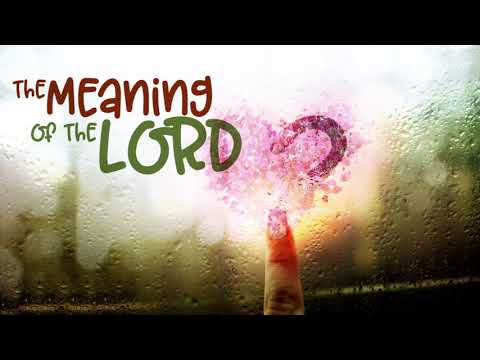 THE MEANING OF THE LORD (IETT-R) SYLLABLE DEMO