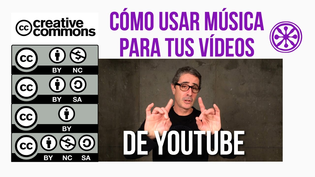 Cómo Poner Música En Vídeos De Youtube Con Licencias Creative Commons Youtube