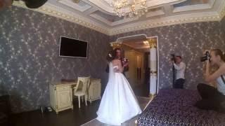 Даня и Саша (встреча жениха и невесты в отеле)