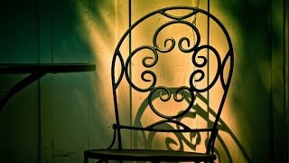 Wrought Iron Chair Decors