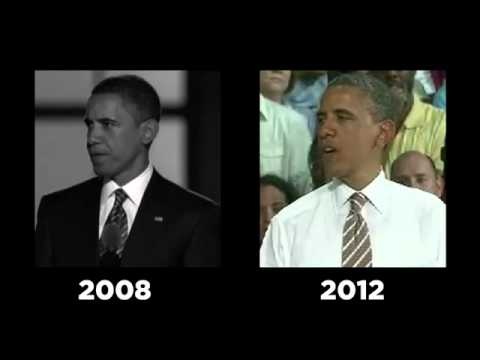 Hope & Change, Then & Now: We've Heard It All Before, Mr. Obama...
