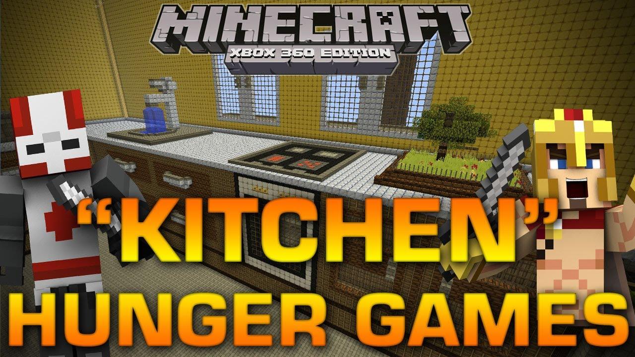 Xbox 360 Hunger Games : Minecraft xbox quot kitchen hunger games w brethren