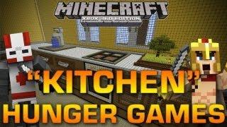 """Minecraft (Xbox 360): """"KITCHEN"""" HUNGER GAMES w/ Brethren, Kodi, & Subs"""