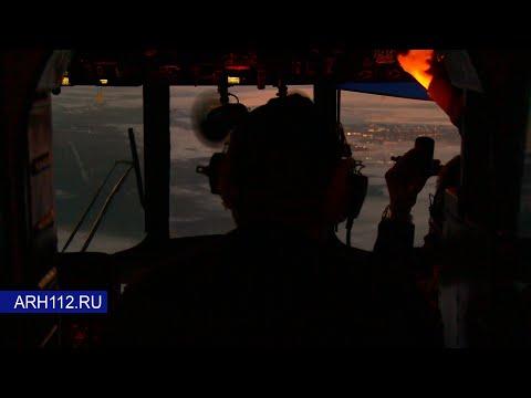 Спасение терпящих бедствие в Белом море