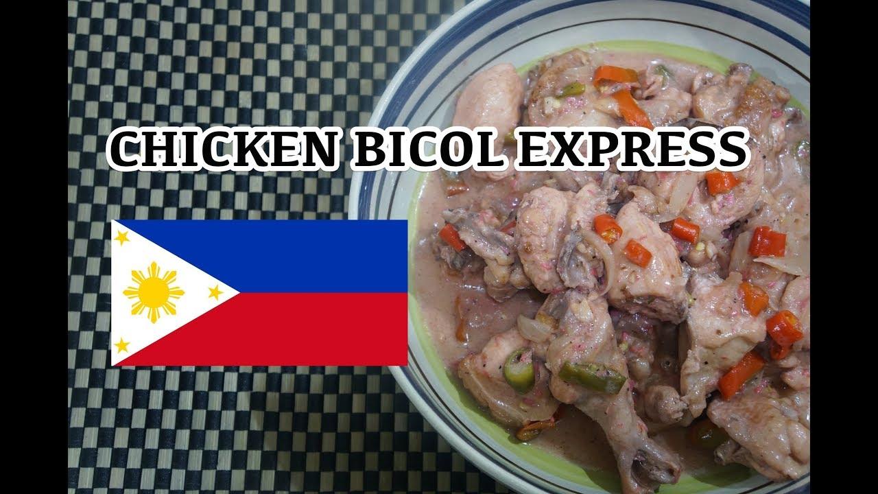 🇵🇭 Chicken Bicol Express - Tagalog Pinoy Filipino Recipe