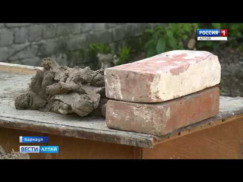 «Вести Алтай» сделали «именной» кирпич для сереброплавильного завода