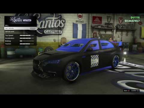 GTA5 selling cars and sorting garages