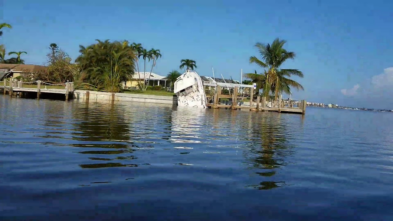 Hurricane Irma Damage Marco Island Youtube