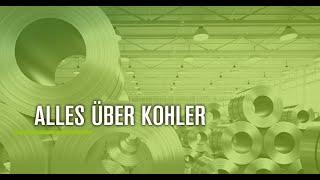 KOHLER Maschinenbau GmbH Imagefilm DE