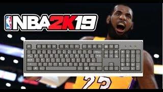 NBA 2k19 Keyboard controls pc