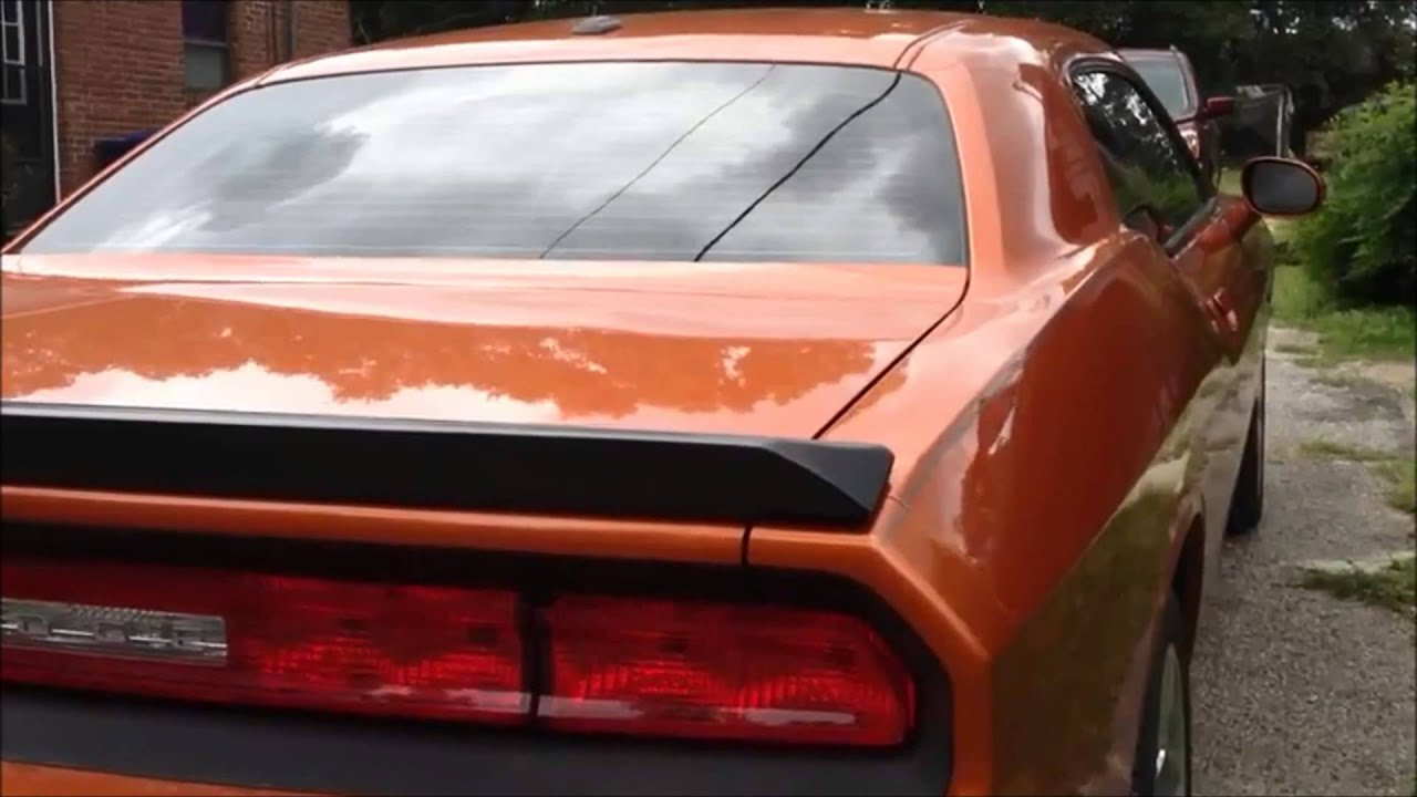 2011 challenger s e w srt rear lip spoiler style how to install quick tour part 1 youtube