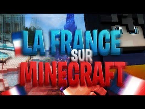 La FRANCE Entièrement CONSTRUITE Sur MINECRAFT ! :O
