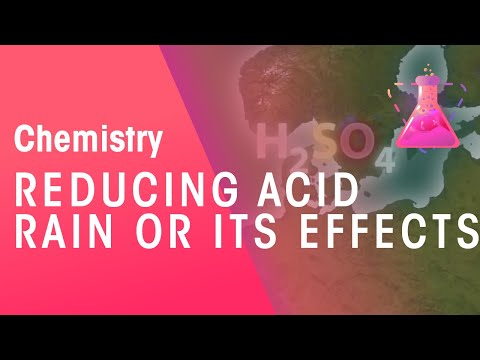 Reducing acid rain or its effects | Chemistry for All | The Fuse School