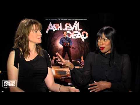 Exclusive Interview: Lucy Lawless and Jill Marie Jones Talk Ash vs. Evil Dead [HD]