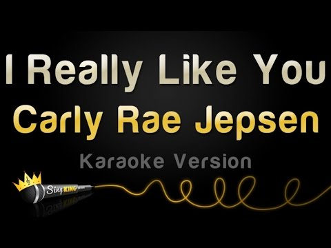 Carly Rae Jepsen - I Really Like You (Karaoke Version)