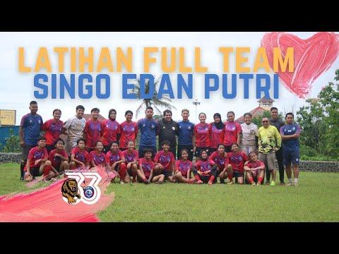 Latihan Perdana Full Team, Arema FC Woman