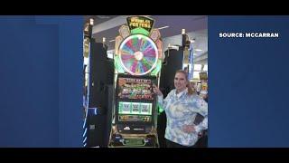 Tourist wins jackpot at Las Vegas airport