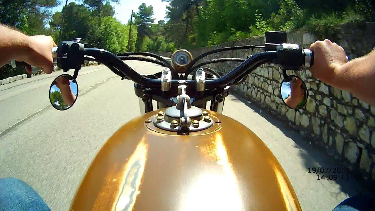 画像: #7 BMW R65 customized by JeriKan Motorcycles test on the road www.youtube.com