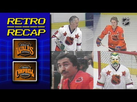 Gretzky, Howe Thrill In 1980 NHL All-Star Game   Retro Recap   Campbell Vs Wales