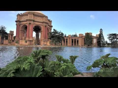Palace of Fine Arts - Time Lapse HD