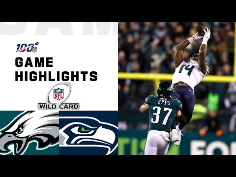 Seahawks vs. Eagles Wild Card Round Highlights | NFL 2019 Playoffs