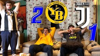 YOUNG BOYS 2-1 JUVENTUS | LIVE REACTION TIFOSI JUVENTINI *INCAZZATI* HD!! [CHE SCHIFO!]