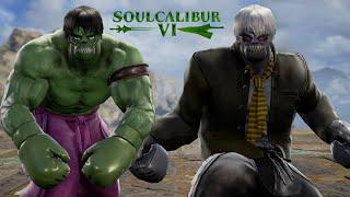 SOULCALIBUR 6 CREATIONS : HULK VS SOLOMON GRUNDY