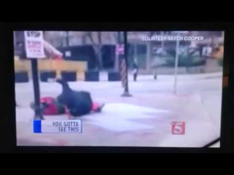 Local Anchors Crack Up Over Clown Beating Story