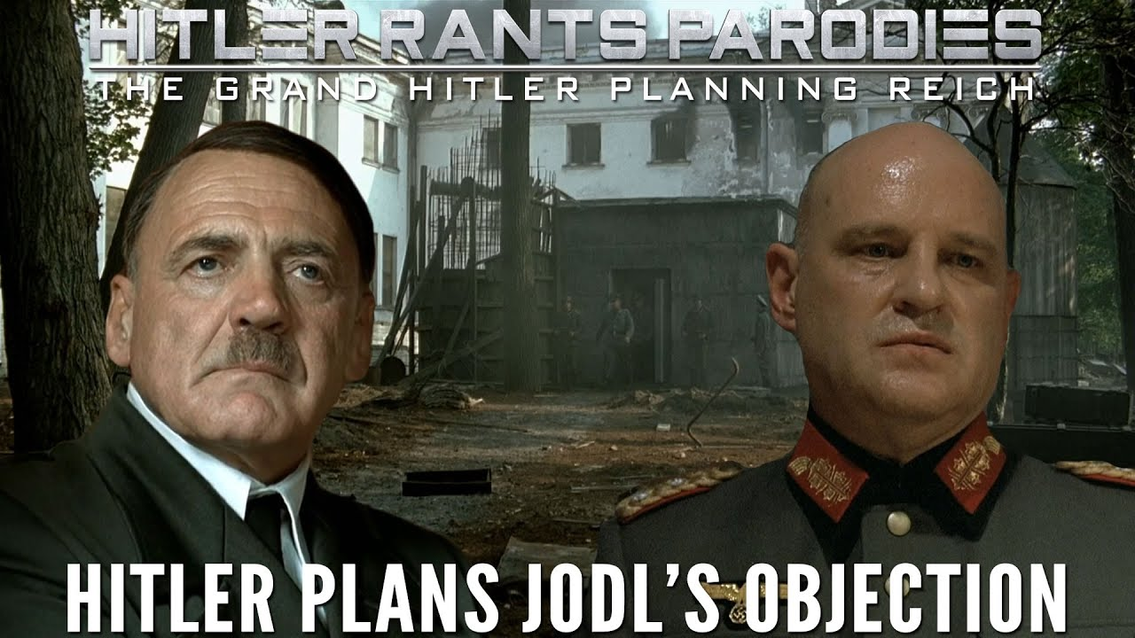 Hitler plans Jodl's objection