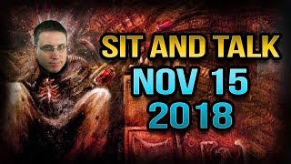 Live Sit and Talk with Matthew   Nov 15 2018
