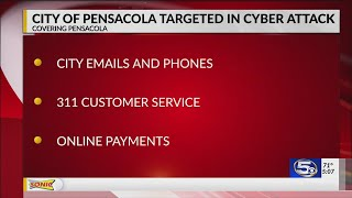 City of Pensacola targeted in cyber attack