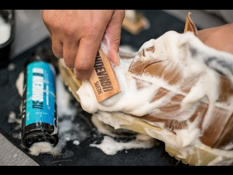 How to clean dirty Wheat Timberlands with Reshoevn8r