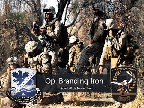 """CAA/UST101 - COOP - """"Operación Branding Iron"""""""