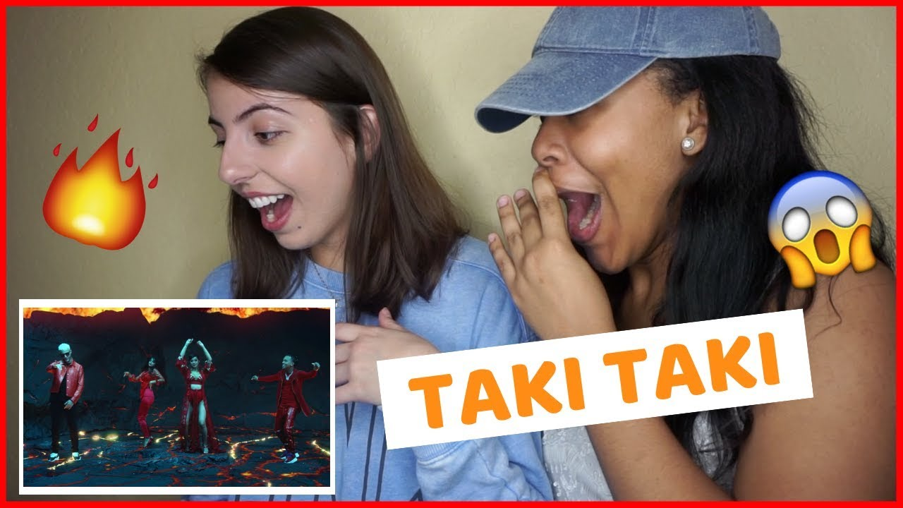 DJ Snake - Taki Taki ft. Selena Gomez, Ozuna, Cardi B (REACTION) #1