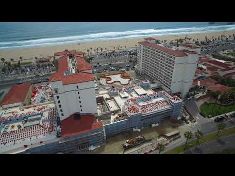 Hilton Waterfront Hotel By Drone