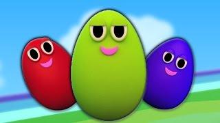 Яйцо палец семьи | семья палец песня | Egg Finger Family | Baby Song | Kindergarten Rhymes