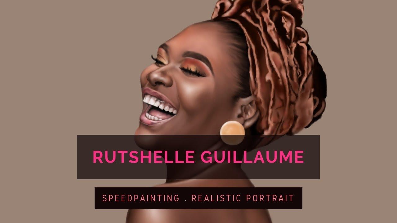 Rutshelle Guillaume | Speedpaint - Krita | CHRISTELLE