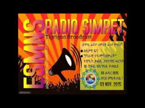 Radio Simret Nov 3 2015