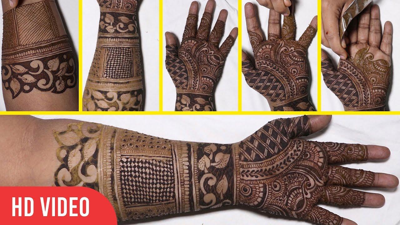 Full birdal mehndi design how to do mehndi at home indian arabic full birdal mehndi design how to do mehndi at home indian arabic mehndi tutorial baditri Images