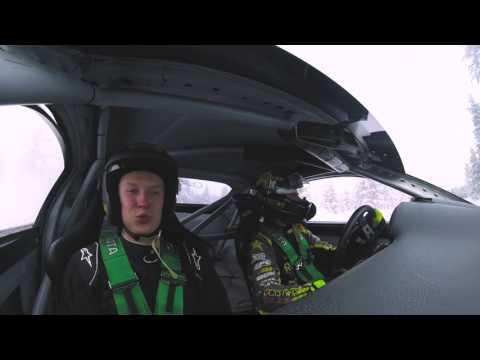 Toyota GT86 Veli V. Rajasaar on board with Fredric Aasbø