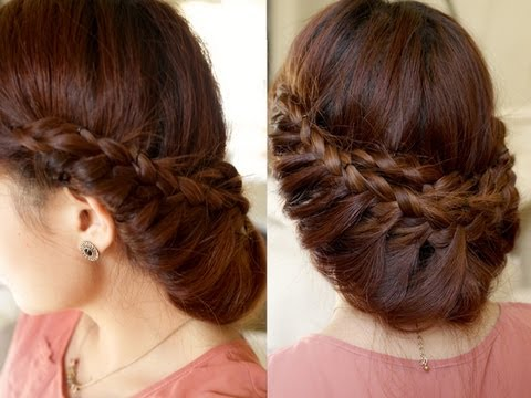 Princess Braided Updo Hair TutorialYouTube