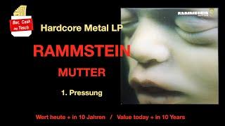 Bar, Cash ina Tesch - Wertvollste Vinyl Schallplatten - Rammstein Mutter - Hartrock + Heavy Metal #6