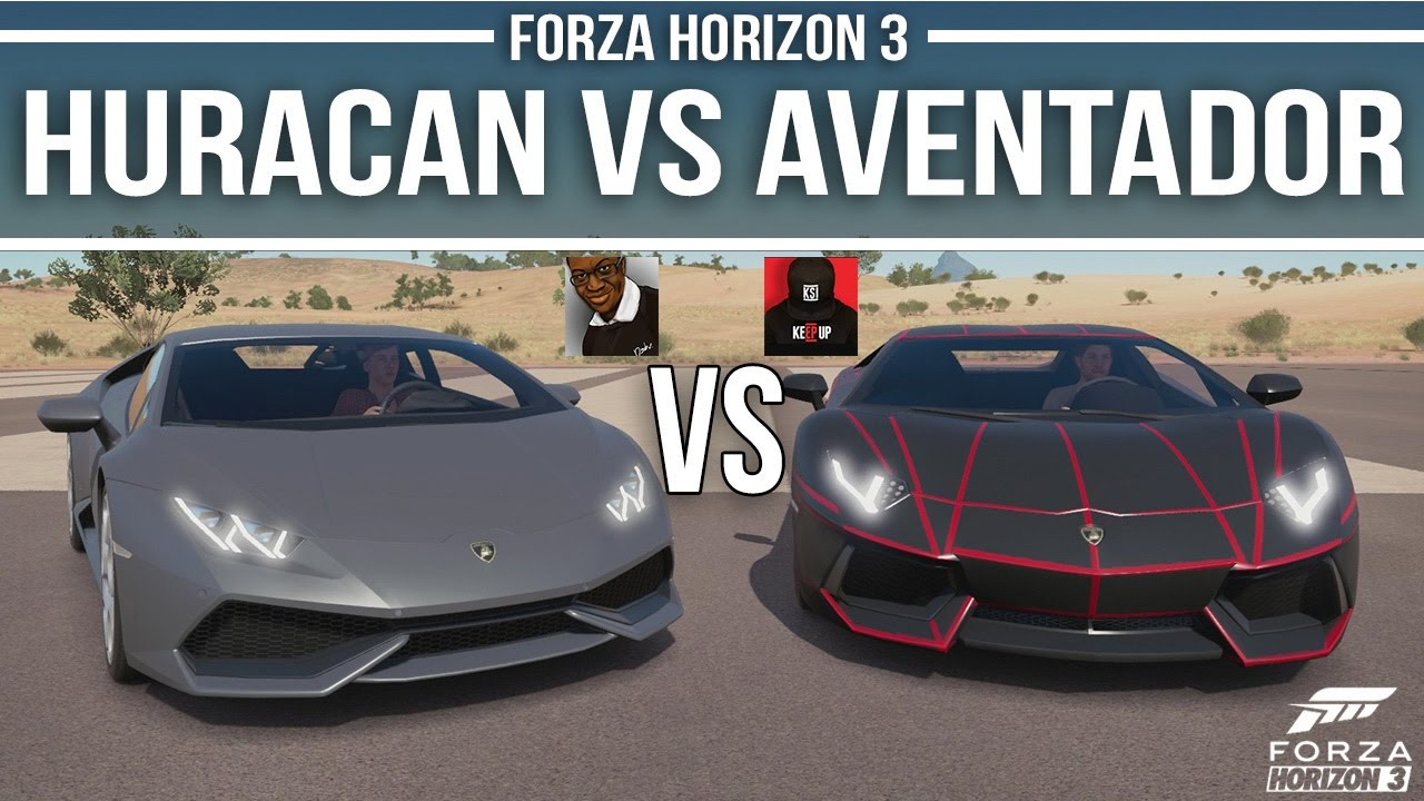 comedyshortsgamer vs ksi battle lamborghini huracan vs. Black Bedroom Furniture Sets. Home Design Ideas