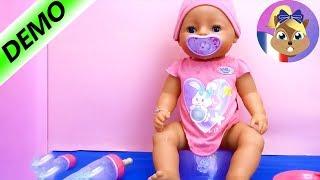 Baby Born Interactif - 818718- Zapf création / démo et aperçu des fonctions du poupon/Français