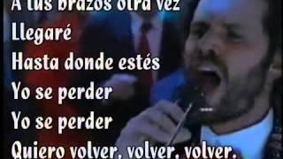 Volver,volver Jairo Del Valle Letra wmv