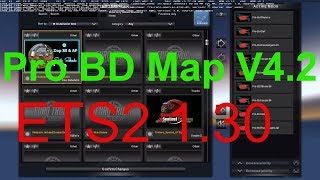How to Use Pro BD Map v4.2 2018 in Euro Truck Simulator 2 1.30 || RJ Solution ||