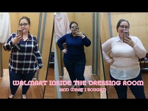 Walmart Plus Size Inside the Dressing Room Try On (and What I Bought)