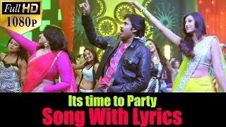 Attarintiki Daredi Songs W/Lyrics - Its Time to Party Song - Pawan Kalyan Samantha DSP