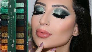 Glitter Smokey Eyes - Wearable Green  | Melissa Samways