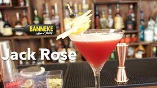 Jack Rose - Calvados Cocktail Selber Mixen - Schüttelschule By Banneke